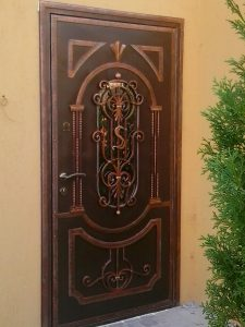 кованые двери в Николаеве