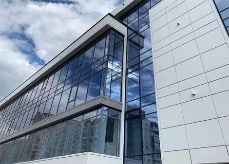 алюминиевые окна и фасады