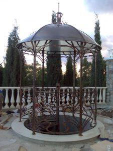 кованые беседки в Николаеве