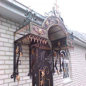 Кованые навесы - заказать в Николаеве