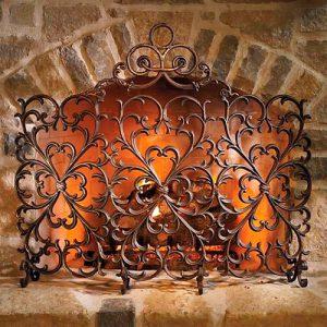 кованые каминные решетки в Николаеве