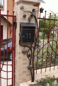 кованые почтовые ящики в Николаеве